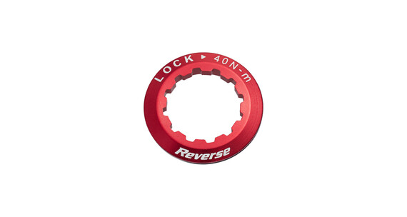 Reverse Kassetten Lockring rot
